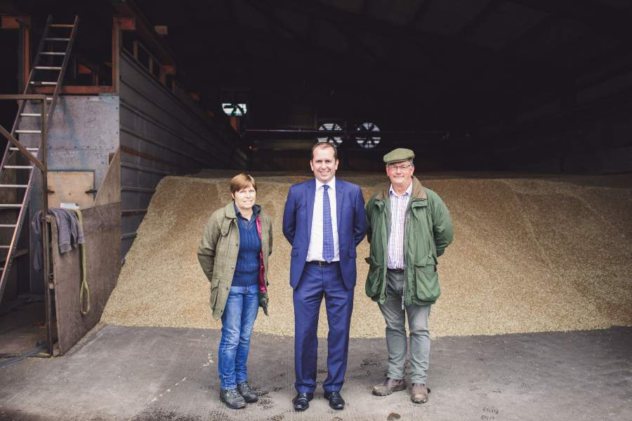 Glamorgan farmers purchase first biomass boiler with HSBC support