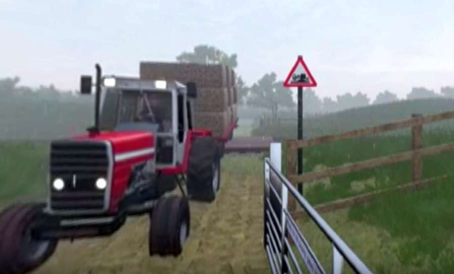 3D safety video highlights graphic dangers of farm level crossings