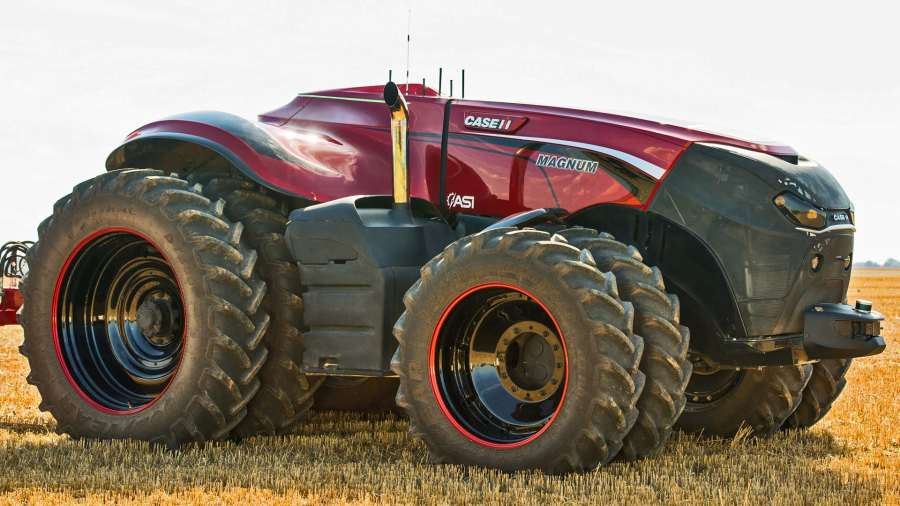 Case IH Magnum Autonomous Tractor, an example of a self-driving machine (Photo: Case IH)