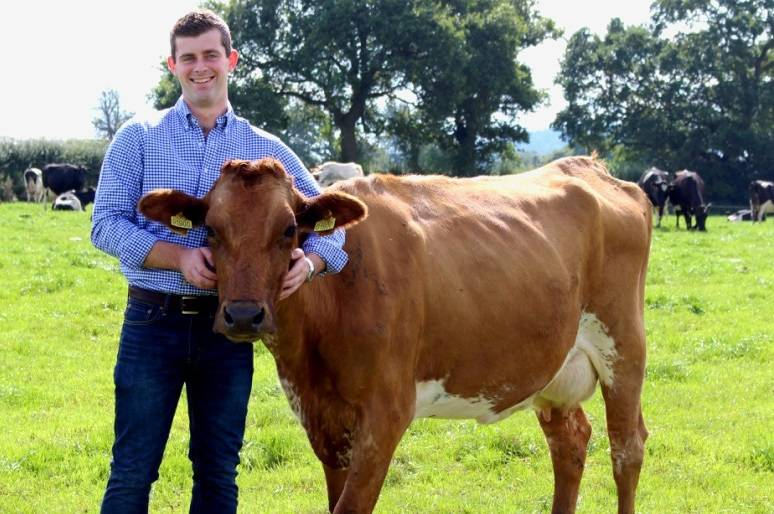 Young farmer eyes up US following launch of Cheshire's first clotted cream product