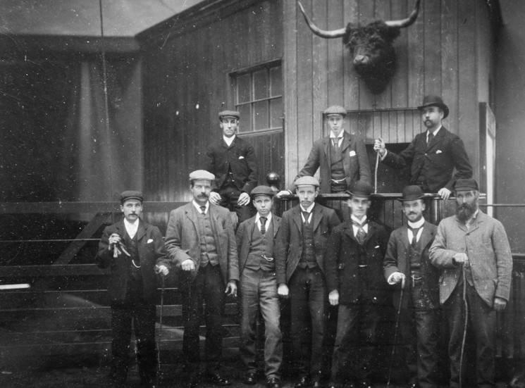 Treasure trove of rare photographs shows rare glimpse of 19th century farm life