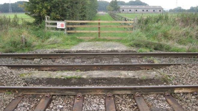 Video: Farm-level crossing removed following fatal crash