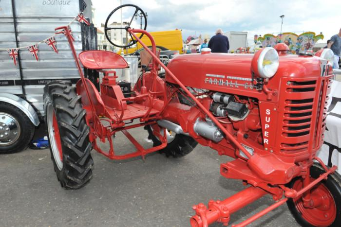 West Sussex: 'Unique' historic red tractor stolen