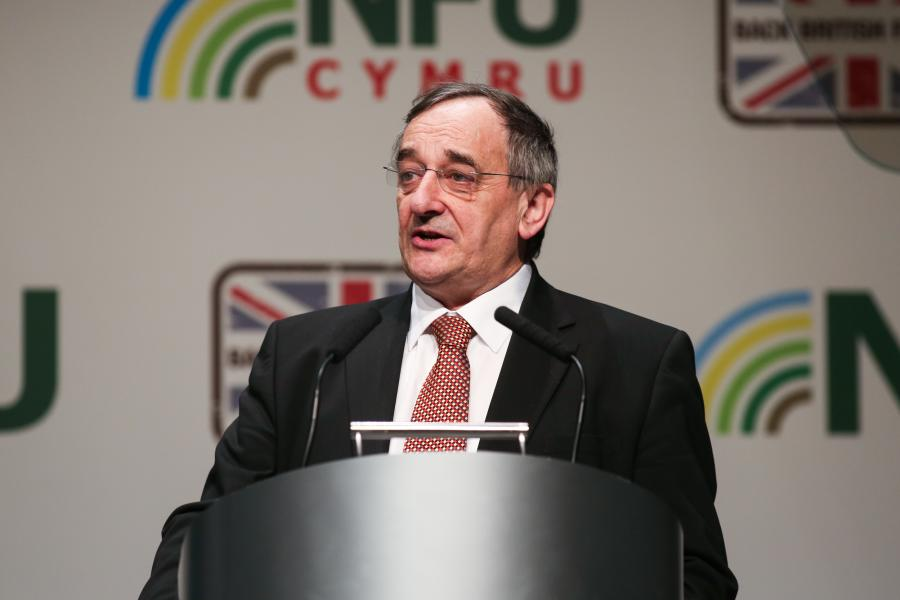 "NFU President Meurig Raymond said the document is ""what farming and Britain needs"""