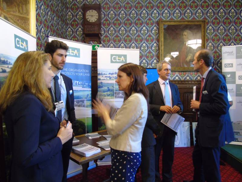 MPs and Peers show support for post-Brexit rural issues at Parliament event