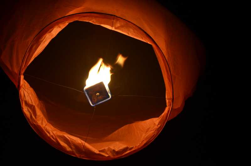 Keep 'fatal' sky lanterns 'grounded' this Halloween, warns RSPCA