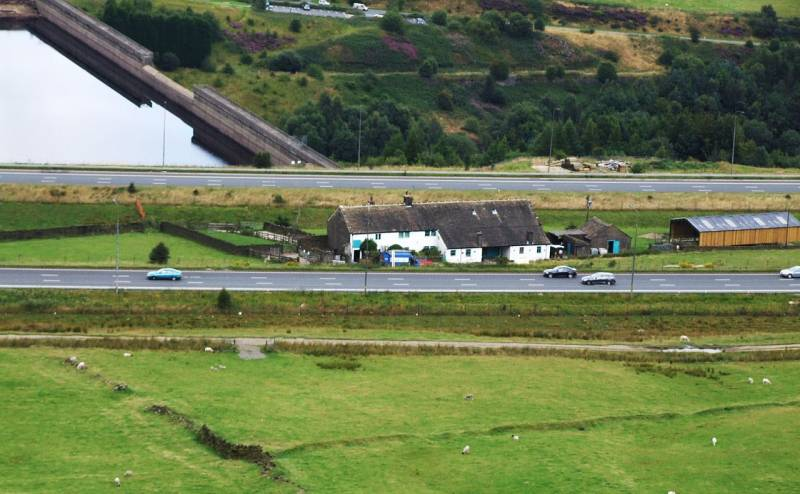 Famous farm in middle of M62 takes step to become more sustainable