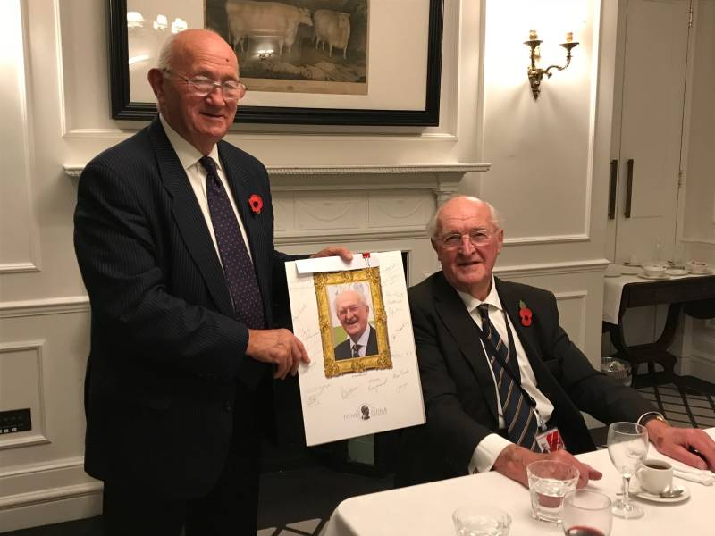 Agricultural peer Lord Plumb delivers valedictory speech to Lords