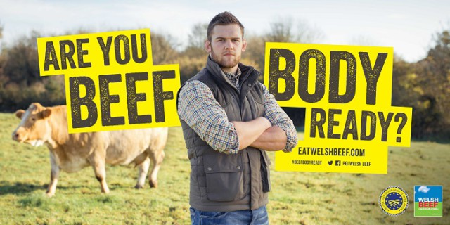 'Are you beef body ready'?: New PGI Welsh Beef advert launched
