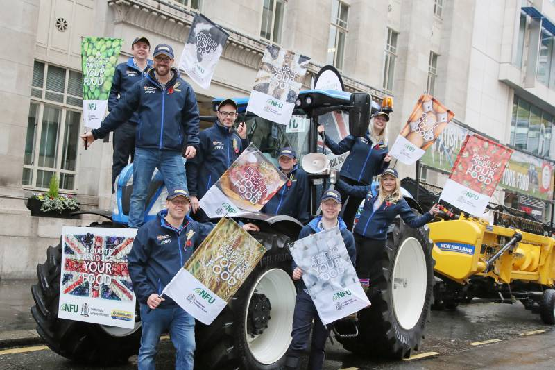 'We're proud to produce your food': Farmer's make big impact at Lord Mayor's show