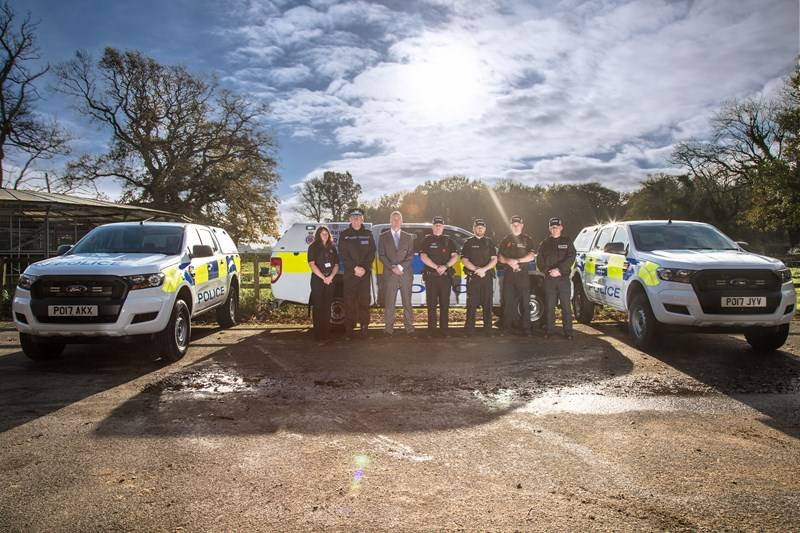Lancashire police gains off-road vehicles to help stamp out rural crime