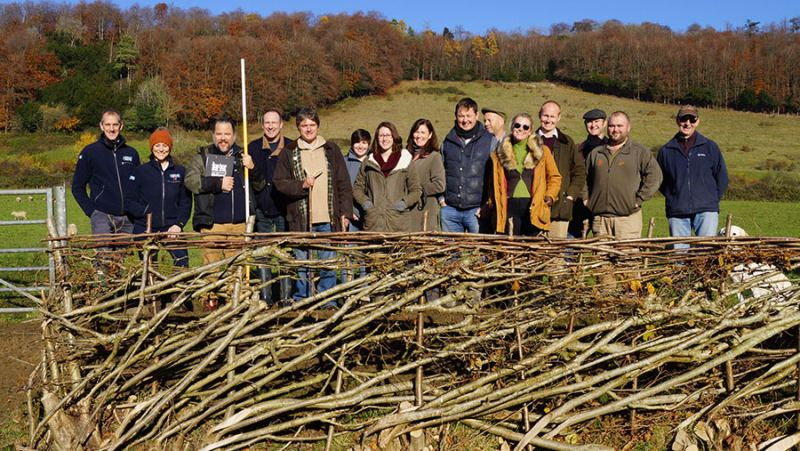 Project aims to restore vital hedgerow habitats found on farmland