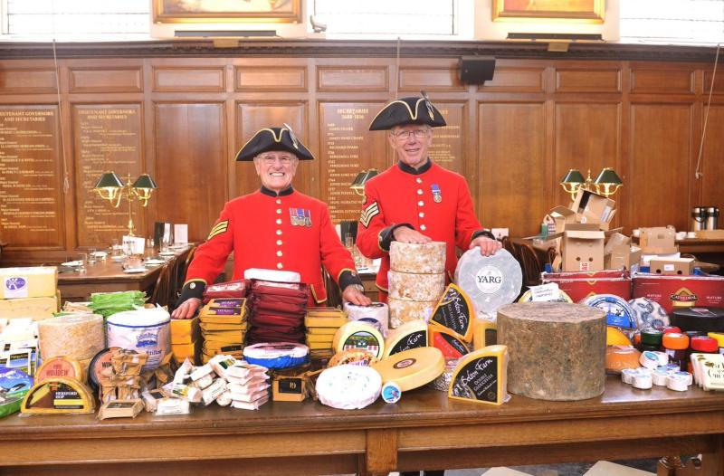 UK's most-famous war veterans celebrate British dairy in annual cheese event