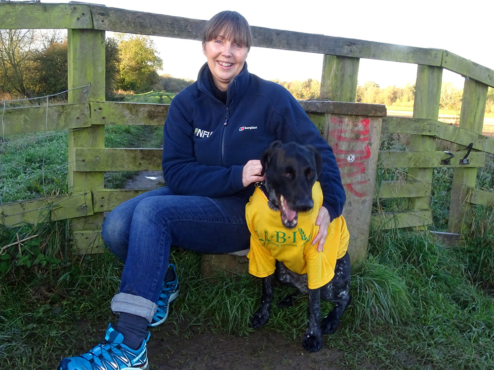NFU adviser walks one million steps in aid of farming charities