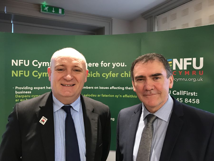 New NFU Cymru President speaks of 'challenging time' for agriculture
