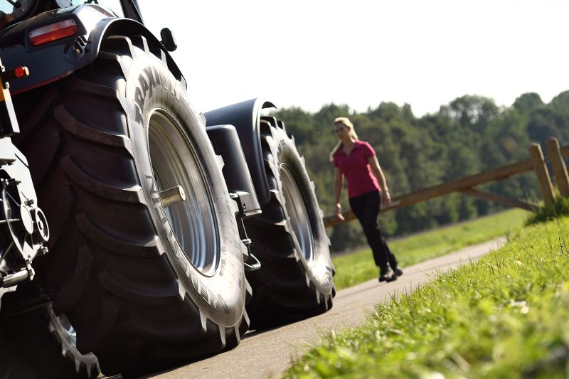 Next generation VF tyre for top tractor segment