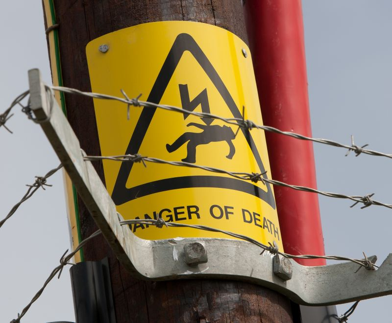 '11,000 volts shot through my body': Farmer tells story about dangers of power lines