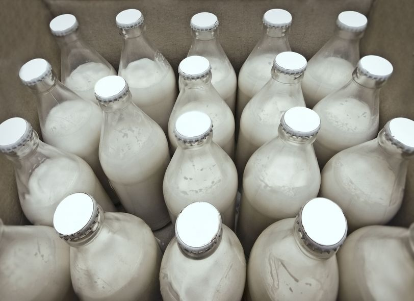 Dairy joins efforts to reduce plastic waste by using reusable glass bottles