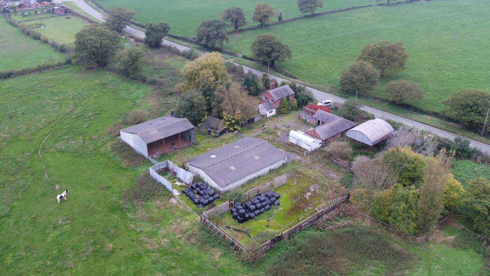 'Rare opportunity' to buy 'unfettered' 63 acre farm on Welsh border