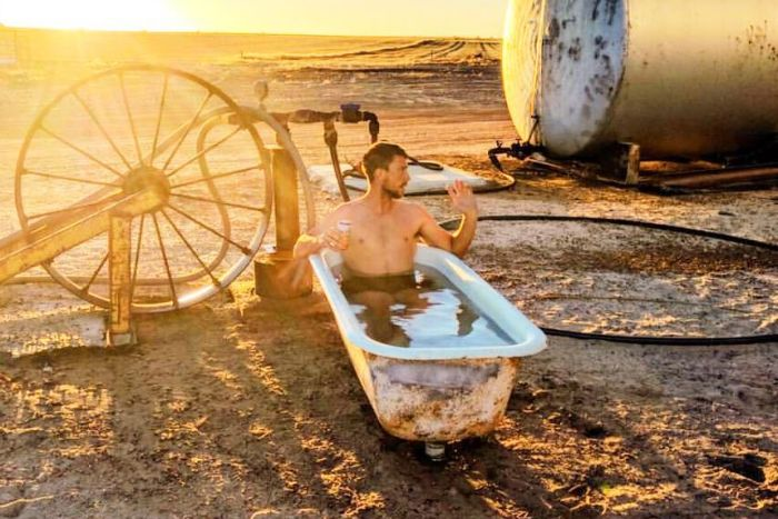 Australian farmers strip off to highlight mental health in agricultural industry