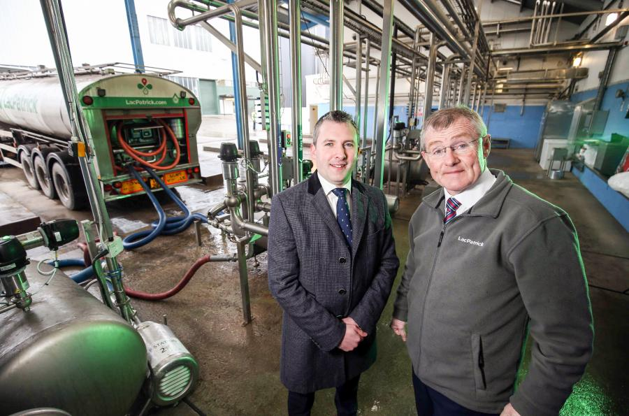 New dairy technology centre opens in Northern Ireland after £30m investment