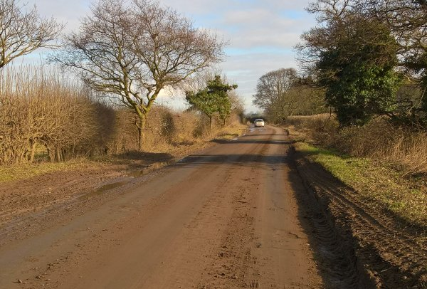 "The council said mud on the road can present a ""serious hazard"" to drivers, particularly during wintry weather (Photo: North Yorks County Council)"