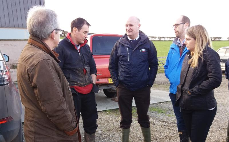 Welsh Minister visits upland sheep farm to learn importance of local rural life