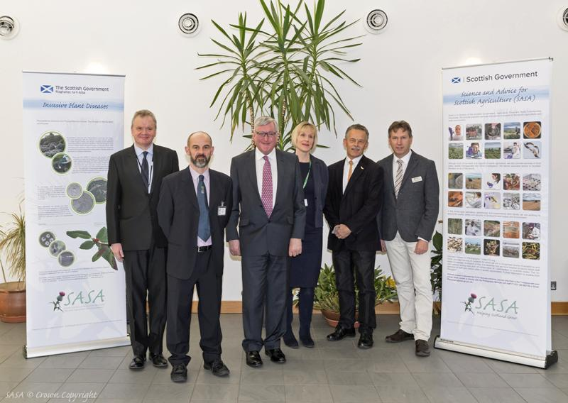 Launch of Scotland's Centre of Expertise for Plant Health (Photo: SASA)