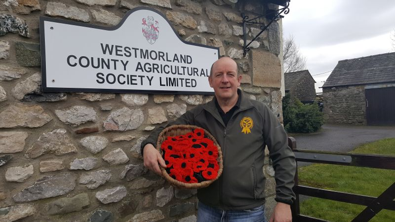 Agricultural society asks for poppies to remember those who fell during world wars