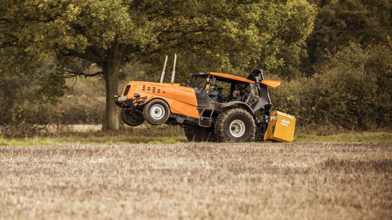 World's fastest tractor capable of 87.2mph created by Top Gear team