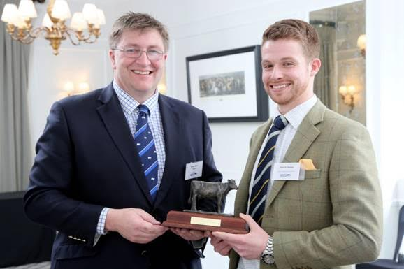 The son of two dentists wins this year's RABDF Dairy Student Award