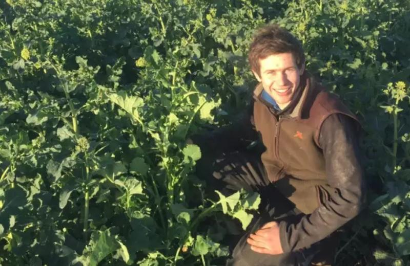 Young farmer seeks kidney transplant and donations to raise money for charity