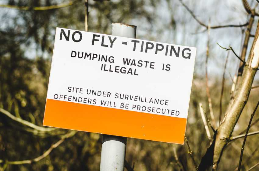Farmers and landowners spend upwards of £47 million a year clearing up fly-tipped waste