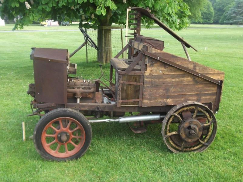 Unique 1926 car transformed into tractor to go on show