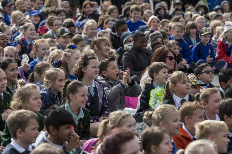 Thousands of school children learn more about farming in Kent event