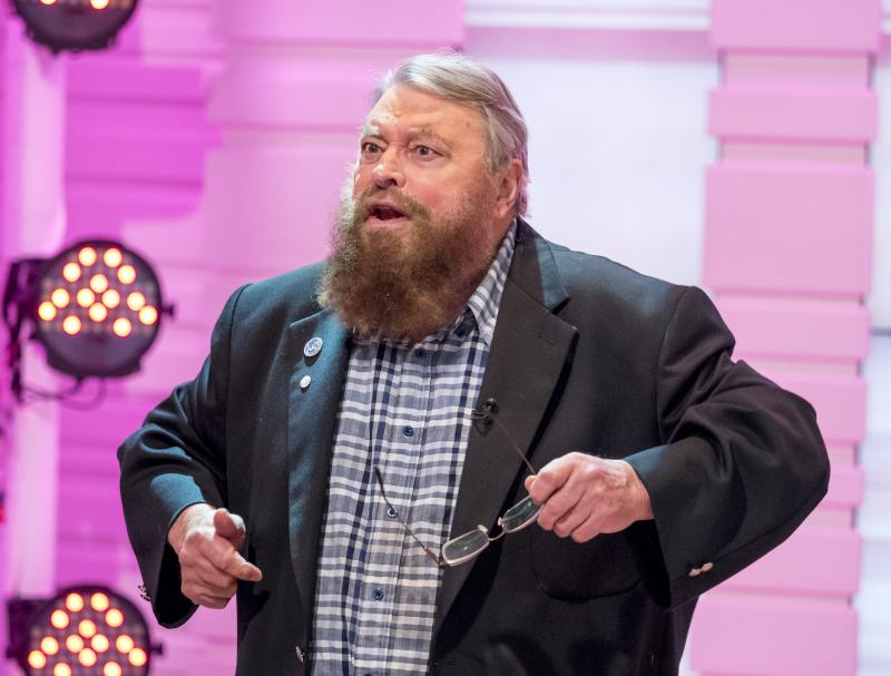 Brian Blessed launches badger cull rant at pig and poultry dinner