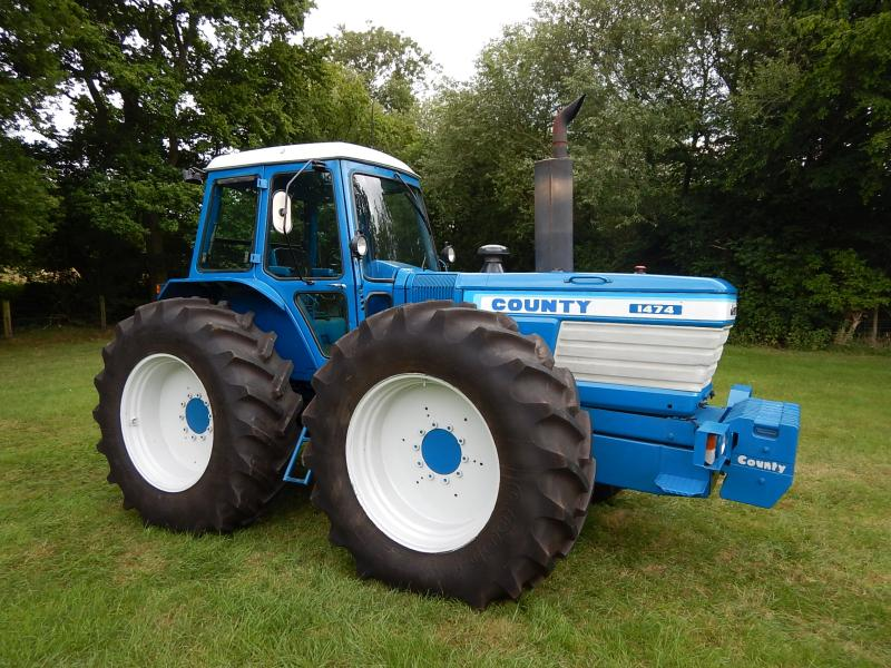 Record price of £94,500 achieved for classic tractor at auction