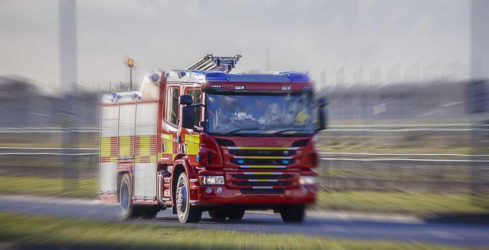 Five people receive treatment following Aberdeenshire farm fire
