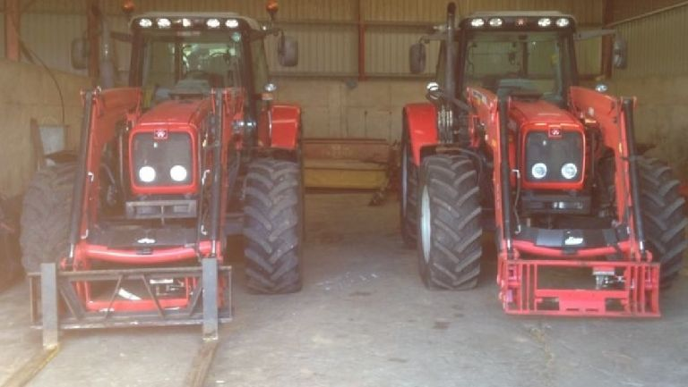 Two tractors worth £70,000 stolen from West Lothian farm