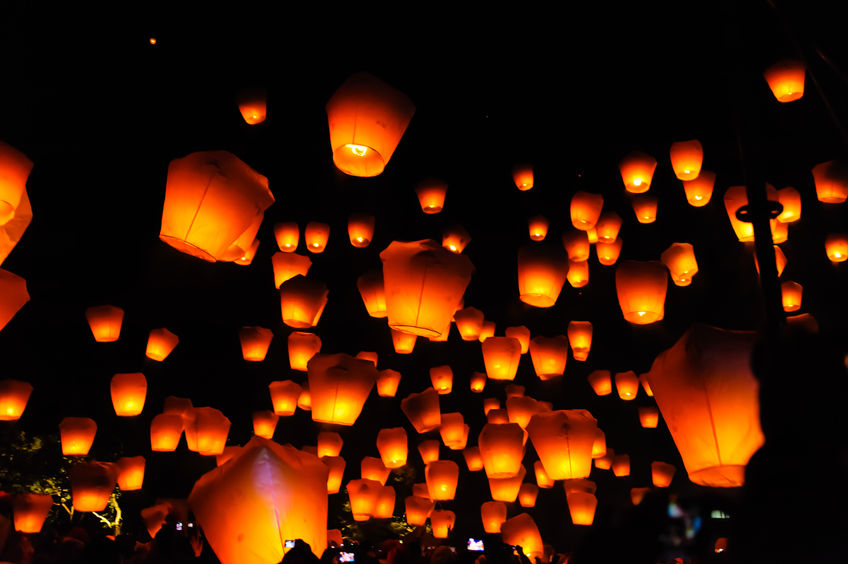 Sky lanterns can start fires, harm animals and litter the countryside