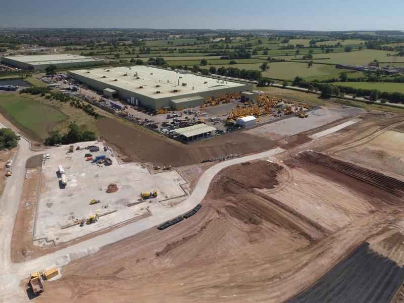 Machinery giant JCB announces £50m investment in new UK plant