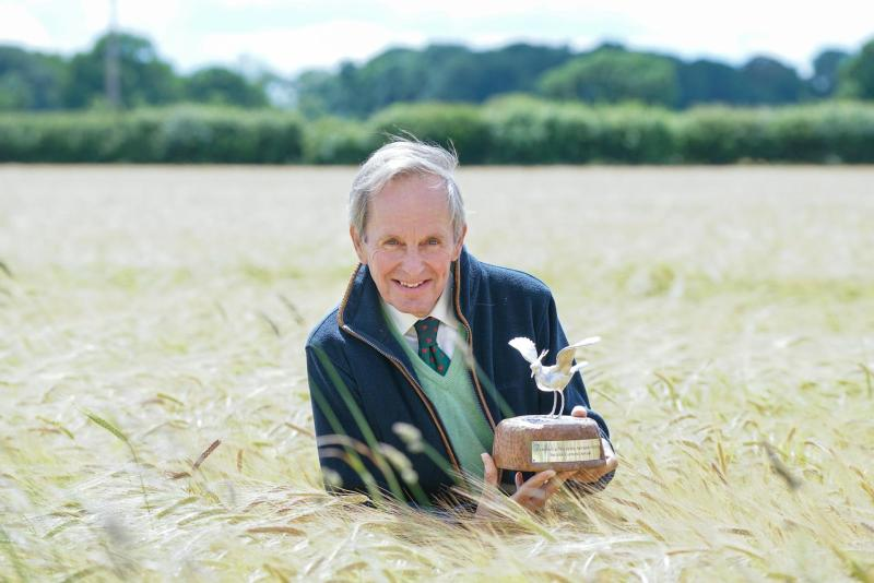 Cumbrian farmer wins award for conservation efforts on his 4,000 acre farm