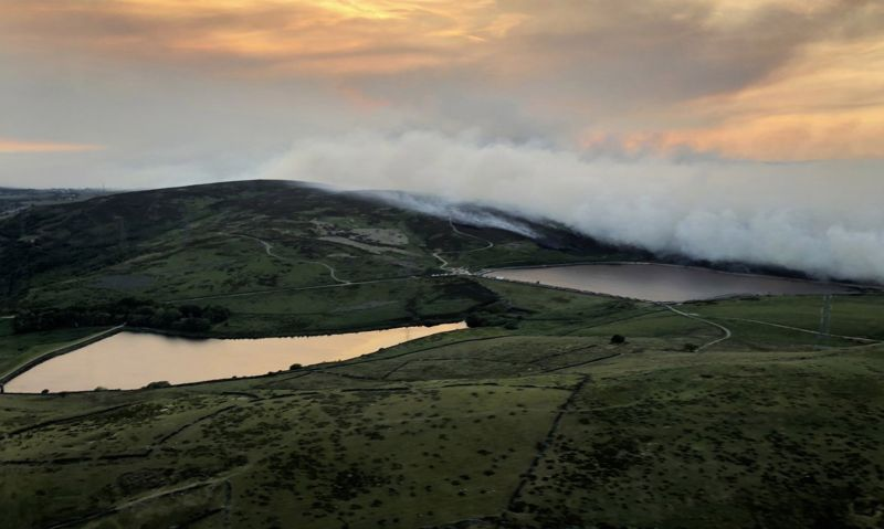 Rewilding Britain's upland areas will increase wildfire risk, sheep farmers say