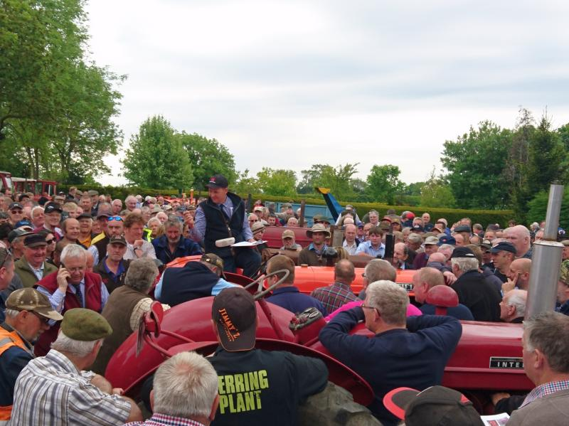 'Impressive' vintage tractor collection raises more than £300,000 at auction