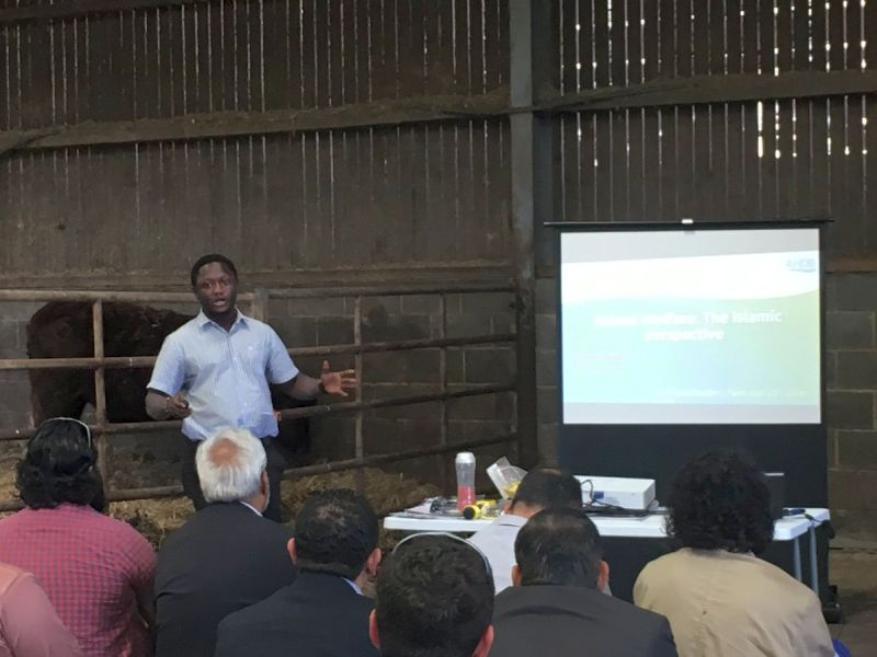 An event held in West Yorkshire highlighted the importance of communication between farmers and the halal sector