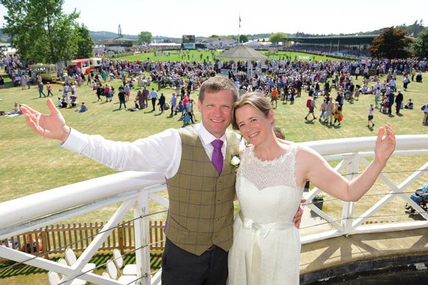 The farming couple first met 25 years ago at Young Farmers (Photo: Great Yorkshire Show)