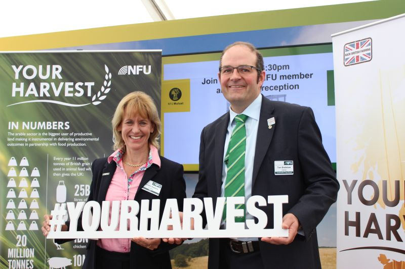 Farmers launch arable campaign at Westminster to garner political support