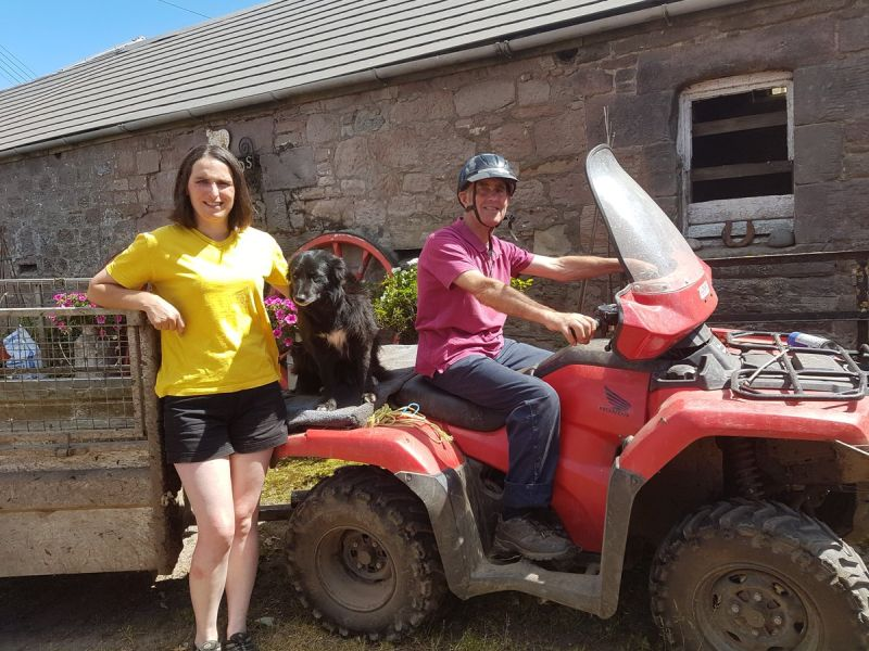 Helmet use highlighted as farmer recalls horrific ATV accident