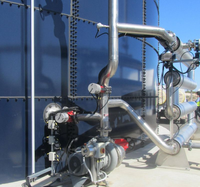 Landia AD pumps and mixers take to World Biogas stage