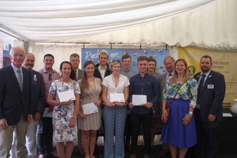 Nine young farmers win awards to travel world and study agriculture
